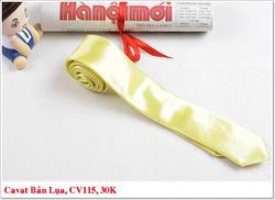 Ảnh số 45: Cavat Nam, Cavat Bản Nhỏ,  Nơ Đeo Cổ Nam, Cavat Hàn Quốc, Nơ Đeo Cổ Hàn Quốc - Giá: 30.000