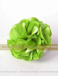 Ảnh số 39: Hoa cài áo AF0007GR02S3 - Giá: 55.000