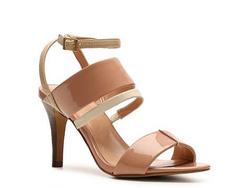 ?nh s? 26: BCBGeneration size 6  Sandals màu nude , quang ngang, quai cài cổ chân  Cao 9cm - Giá: 2.000.000