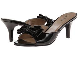 ?nh s? 32: Rialto size 6, 6.5 , 7  Sandals màu đen , gắn nơ trên mũi  Cao 7cm - Giá: 1.000.000
