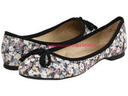 ?nh s? 97: DOLCE by Mojo Moxy size  6.5  Giày đế thấp hoa màu ghi sáng , gắn nơ mũi giày thanh lịch , nữ tính ^^ - Giá: 900.000