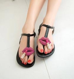 Ảnh số 74: Giày sandals son và môi - Giá: 230.000