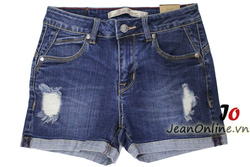 Ảnh số 49: Short jean nữ rách - M6054. Size 1, 3, 5, 7 - Giá: 195.000