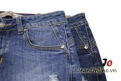 Ảnh số 50: Short jean nữ rách - M6054. Size 1, 3, 5, 7 - Giá: 195.000