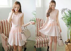 Ảnh số 94: B297: Orange, Blue/ 55, 66 - Váy liền xòe Hàn Quốc - Giá: 1.860.000