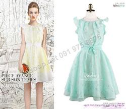 Ảnh số 68: B310: White, Indi Pink, Mint/ 55, 66 - Váy liền xòe Hàn Quốc - Giá: 1.850.000
