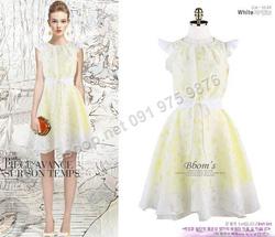 Ảnh số 67: B310: White, Indi Pink, Mint/ 55, 66 - Váy liền xòe Hàn Quốc - Giá: 1.850.000