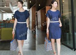 Ảnh số 53: B321: Beige, Navy/ 55, 66, 77 - Váy liền Hàn Quốc set Belt - Giá: 1.920.000