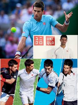 Ảnh số 55: Bộ thể thao thi đấu tennis Djokovic Uniqlo Nhật (giải Pháp mở rộng ROLAND - GARROS 2014 ) - Giá: 2.250.000