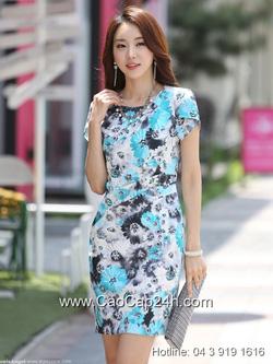 Ảnh số 2: Váy liền thân Hàn Quốc 290501 - Giá: 2.030.000