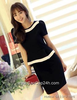 Ảnh số 4: Váy liền thân Hàn Quốc 290502 - Giá: 2.260.000