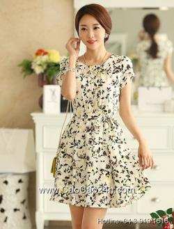 Ảnh số 6: Váy liền họa tiết Hàn Quốc 310520 - Giá: 1.940.000