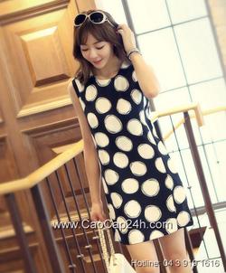 Ảnh số 12: Váy liền thân Hàn Quốc 080603 - Giá: 1.480.000