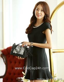 Ảnh số 14: Váy liền thân Hàn Quốc 080604 - Giá: 1.800.000