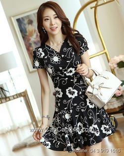 Ảnh số 20: Váy liền thân Hàn Quốc 120605 - Giá: 1.610.000