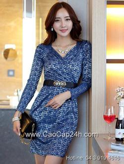 Ảnh số 36: Váy liền công sở Hàn Quốc SA14OP12 - Giá: 1.840.000