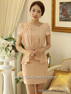 Ảnh số 51: Váy liền công sở thời trang Hàn Quốc 25977Váy liền công sở thời trang Hàn Quốc 25977 - Giá: 1.840.000