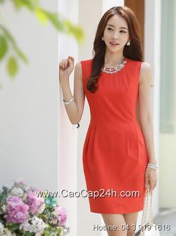 Ảnh số 52: Váy liền thân thời trang Hàn Quốc SA14OP028 - Giá: 1.940.000