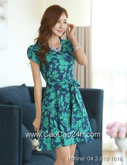 Ảnh số 54: Váy liền họa tiết thời trang Hàn Quốc 26062 - Giá: 2.030.000
