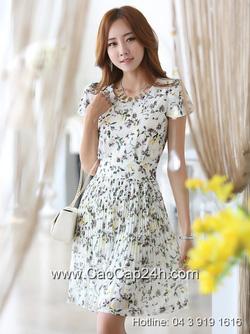 Ảnh số 62: Váy liền họa tiết thời trang Hàn Quốc 220515 - Giá: 2.030.000