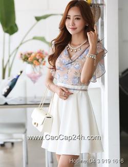 Ảnh số 63: Váy liền họa tiết thời trang Hàn Quốc 220516Váy liền họa tiết thời trang Hàn Quốc 220516 - Giá: 1.850.000