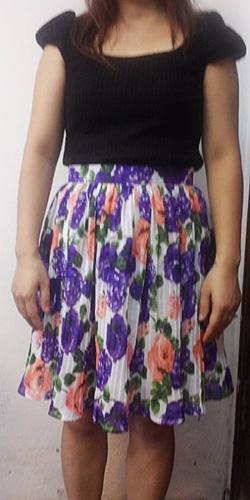Ảnh số 35: 250k  - Chân váy vải dập li 2 lớp - Giá: 250.000