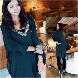 Ảnh số 13: Váy thun bầu thời trang XD 0506 - Giá: 195.000