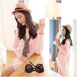 Ảnh số 36: Váy cotton bầu thủy thủ thời trang XD 0919 - Giá: 205.000