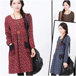 Ảnh số 47: Váy bầu họa tiết Vintage HC 1413 - Giá: 365.000
