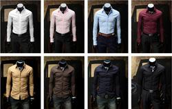 Ảnh số 95: áo somi trơn - Giá: 170.000