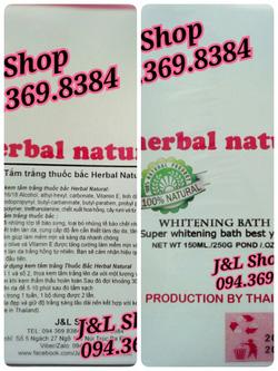 Ảnh số 89: Tắm trắng thuốc bắc Herbal Natural - Giá: 250.000