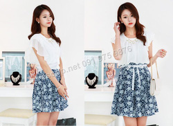 Ảnh số 34: B361: Sky Blue, Navy/ 55, 66 - Váy liền xòe Hàn Quốc - Giá: 1.570.000