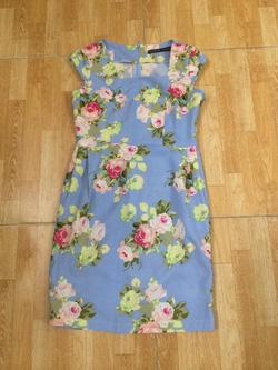 ?nh s? 10: Đầm hoa ngắn tay,, size SML - Giá: 200.000