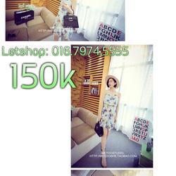 Ảnh số 65: Váy xoè quây lá dừa cực xik lun - Giá: 150.000