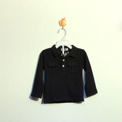 ?nh s? 85: Áo cotton bé trai màu đen