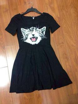 Ảnh số 81: Váy thun mặt hổ - Giá: 200.000