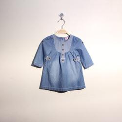 ?nh s? 5: Áo váy bò bé gái phối cổ - Giá: 1.000