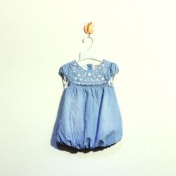 ?nh s? 7: Váy bò bé gái quả bímàu xanh nhạt - Giá: 1.000