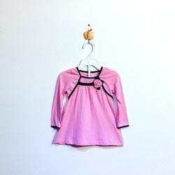 ?nh s? 19: Áo cotton bé gái chun ngực màu hồng - Giá: 1.000