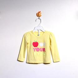 ?nh s? 26: Áo cotton bé gái màu vàng - Giá: 1.000