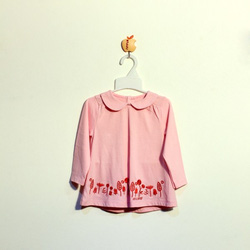 Ảnh số 27: Áo cotton bé gái màu hồng - Giá: 1.000