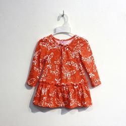?nh s? 30: Áo váy cotton bé gái nơ cổ - Giá: 1.000