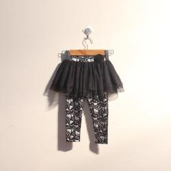 ?nh s? 41: Quần legging bé gái bèo lướI màu đen - Giá: 1.000