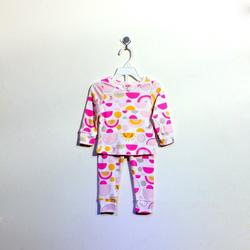 ?nh s? 62: Bộ cotton bé gái in hình mặt trời - Giá: 1.000