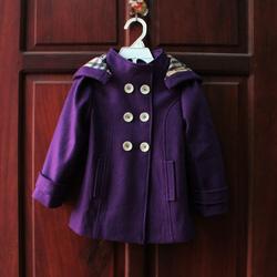 ?nh s? 66: Áo khoác dạ 6 cúc bé gái - Giá: 1.000