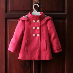 ?nh s? 67: Áo khoác dạ 6 cúc bé gái - Giá: 1.000