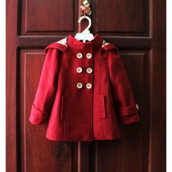?nh s? 68: Áo khoác dạ 6 cúc bé gái - Giá: 1.000