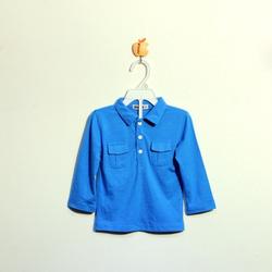 ?nh s? 82: Áo cottton bé trai màu xanh nhạt - Giá: 1.000