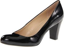 Ảnh số 42: Giày pump màu đen da bóng  Đế và gan bàn  chân có lót Ck đi cực êm chân ah  Cao 6cm   Màu nâu đen có size 6.5 - Giá: 2.500.000