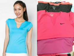 ?nh s? 43: Nike Women\\\s Summer Pure SS Top - Giá: 280.000